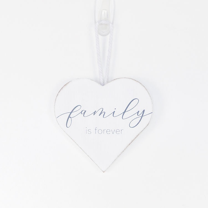 FAMILY IS FOREVER - WOOD ORNAMENT