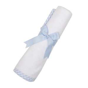 Blue Check Swaddle Blanket