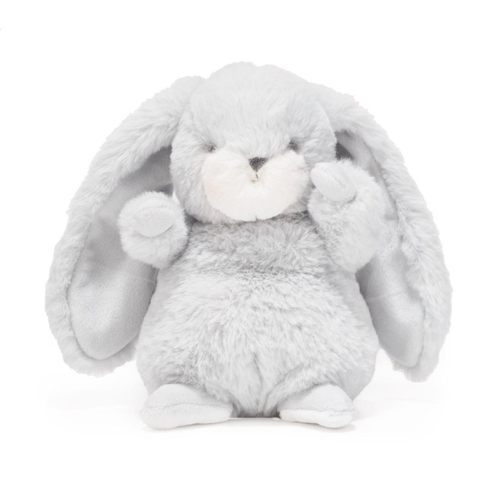 "TINY NIBBLE 8"" BUNNY - GRAY"