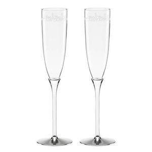 KATE SPADE NEW YORK KEY COURT™ 2-PIECE TOASTING FLUTE SET