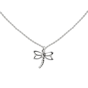 DRAGONFLY LITTLE LAYER NECKLACE - SILVER