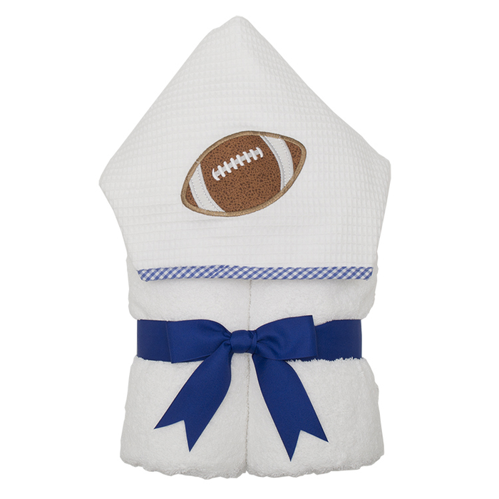 Blue Football Everykid Towel