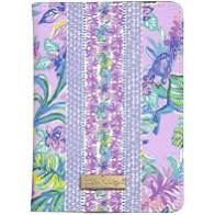 Lilly Pulitzer Passport Cover, Mermaid In The Shade