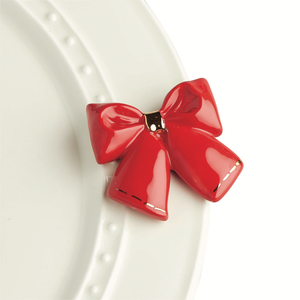 Nora Fleming Minis - Red Bow