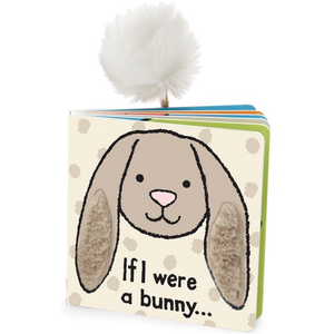 If I Were a Bunny Book - Beige