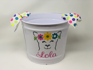 LOLA PERSONALIZED  BUCKET