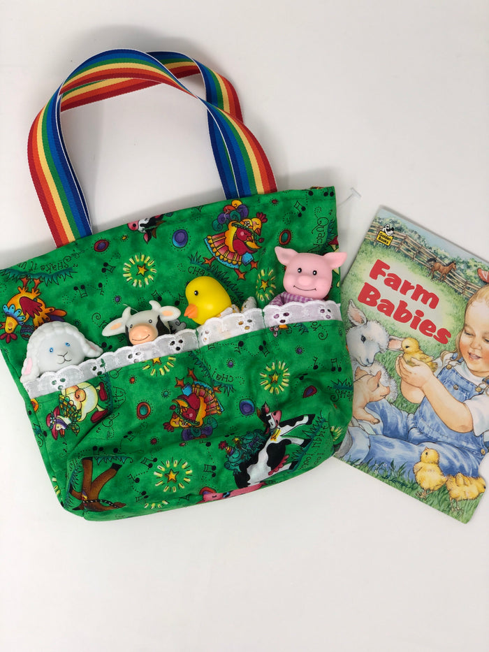 Farm Animal Tote