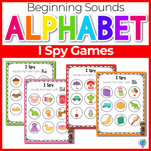 Beginning Sounds I Spy