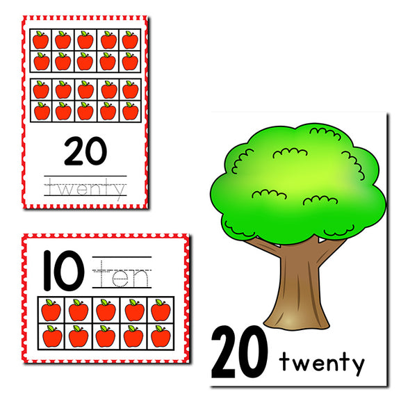 Numbers 1-20 Counting Activities BUNDLE