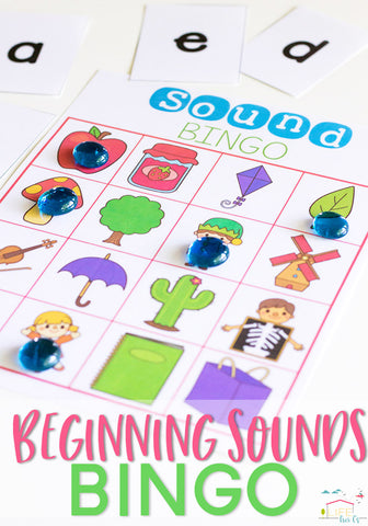 Perfect for building phonetic awareness! Preschoolers and Pre-K students will love these beginning sounds BINGO games.