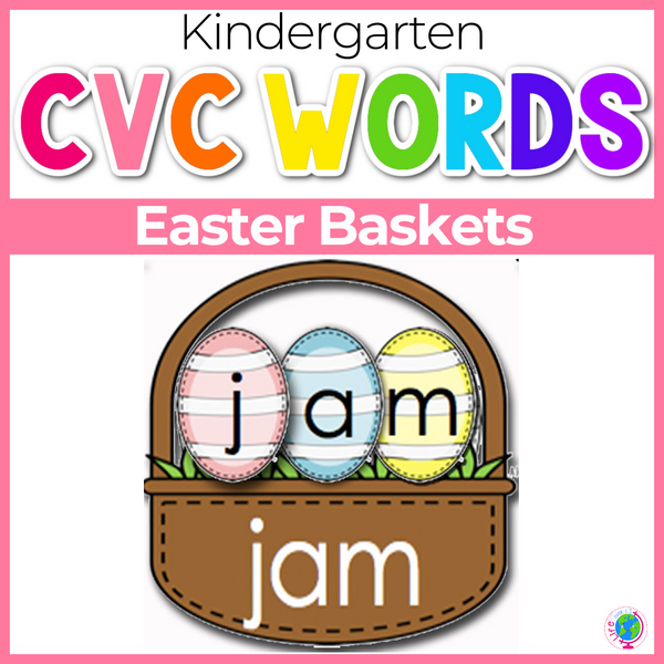 CVC Word Easter Baskets