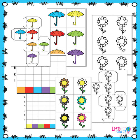 Color Graphing Four Seasons Bundle