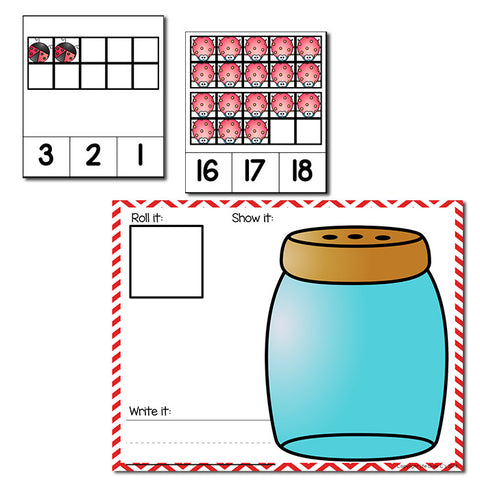 Bug Theme Numbers 1-20 Counting Activities | Counting to 20 | Math Centers