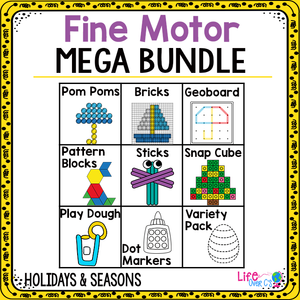 Fine Motor Mega Pack | Holiday and Seasons