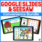 Google Slides and Seesaw GROWING Bundle | Convenience Pack