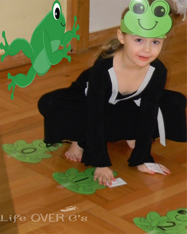 Get hopping with this Frog number line for numbers to 20. Practice addition and subtraction with a fun kinesthetic approach!