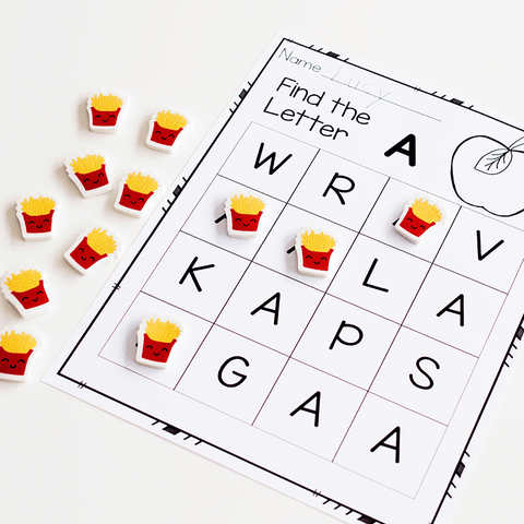 Build letter recognition for uppercase and lowercase letters with these alphabet activities for kindergarten.