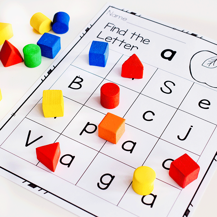 graphic relating to Letter Recognition Games Printable named Alphabet Functions Uppercase and Lowercase lifeovercs