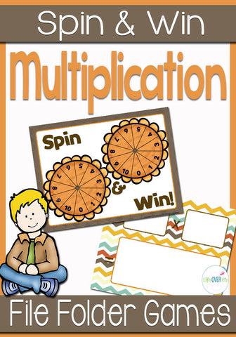 Practice multiplication facts with this fun partner game. Kids will love leaning their multiplication facts as they travel though the game board.