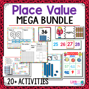 Place Value Numbers 0-100 | Kindergarten Math Centers