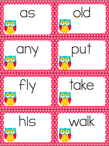 This sight word card game is a great way to learn the Dolch sight words for 1st grade! Your kids won't even realize how much they are learning!