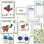 2D and 3D Shapes | 1st Grade Math Centers