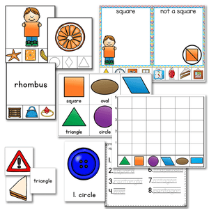 Kindergarten Math Growing BUNDLE | Year Long Differentiated Math