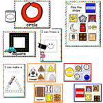 2D Shapes | Pre-K/Preschool Math Centers