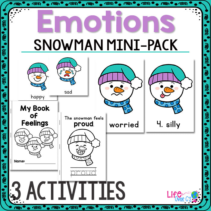 Snowman Emotions Mini-Pack