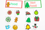 Christmas Sorting | Pre-K/Preschool Math Centers