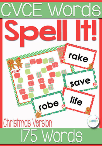 This CVCE Word file folder game is a fun way to learn about magic 'e' words.