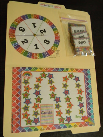 This CVCE board game is perfect for practicing CVCE words with your students! With 175 words to choose from your kids will get lots of practice with Magic 'e'!