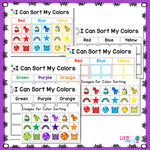 8 low-prep unicorn color activities for preschool and pre-k.