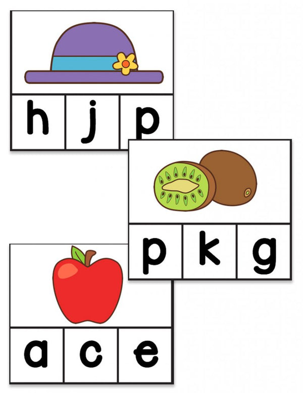 Beginning Sounds Activity Pack for Phonemic Awareness: BUNDLE