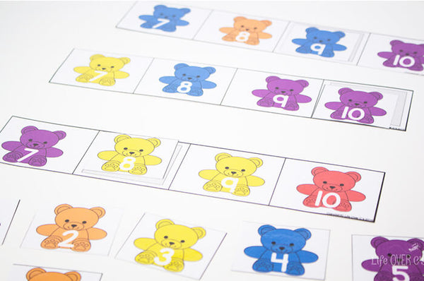 Rainbow Bear Mega Pack for Preschool