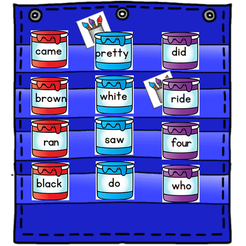 Sight Word Hide & Seek Pocket Chart Cards | Endless Bundle