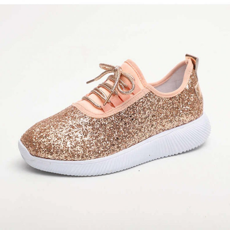 Basket Flats New Chaussures Sneakers Bling Gold Sliver Women f67Yybg