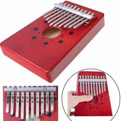 10 Key Portable Thumb Piano - Toys Kids & Gift