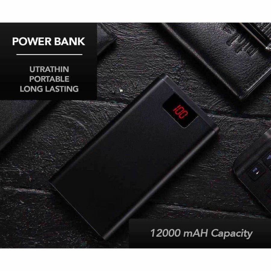 12 000 Mah Ultrathin Power Bank - Power Bank