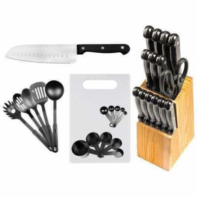 29 Pc Stainless Steel Kitchen Knives