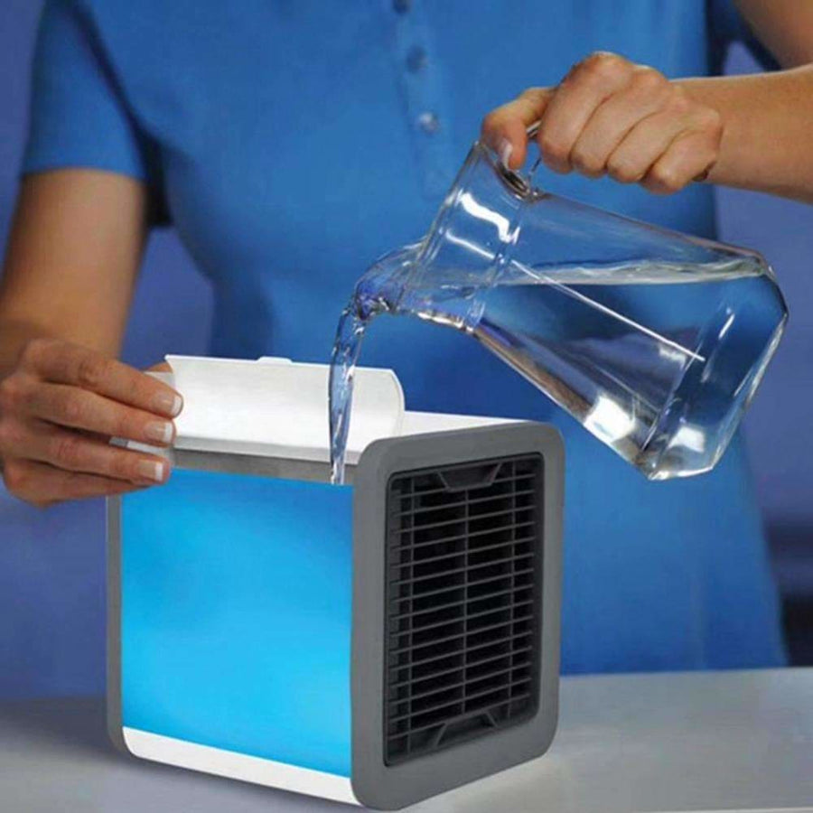 3 Speeds Usb Arctic Air Cooler Air Conditioner Device Humidifier For Home One Color - Home & Garden