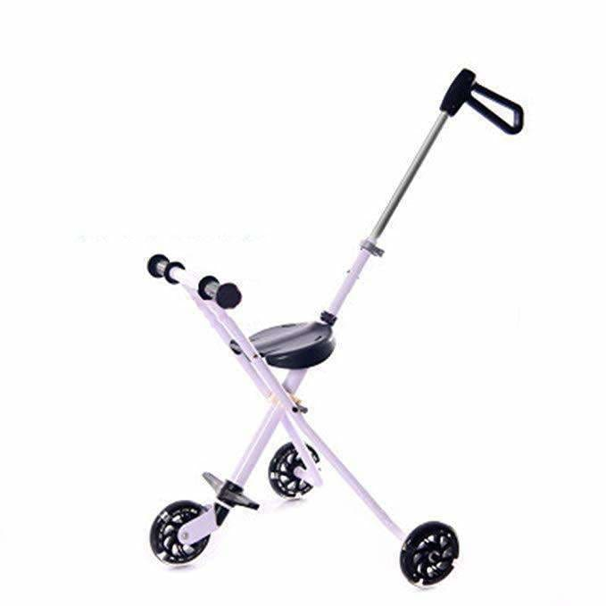 3 Wheel Baby Stroller Folding Tricycle 1-3 Years Old Baby Tricycle Slide Baby Artifact
