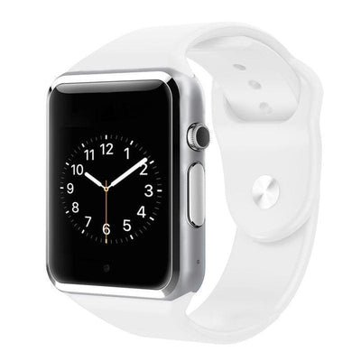 Bluetooth Smart Watch With Camera - A1 White