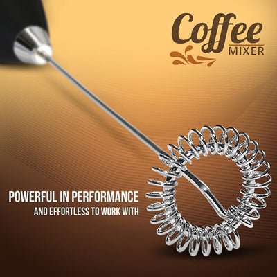 Handheld Milk Frother Coffee Beater Mixer & Whisker