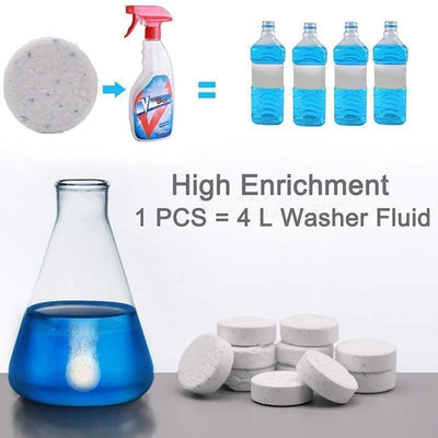Multifunctional Effervescent Spray Cleaner 1 Set - Cleaning