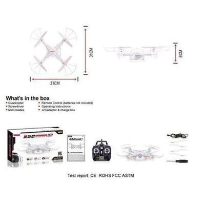 Quadcopter Drone With Hd Camera