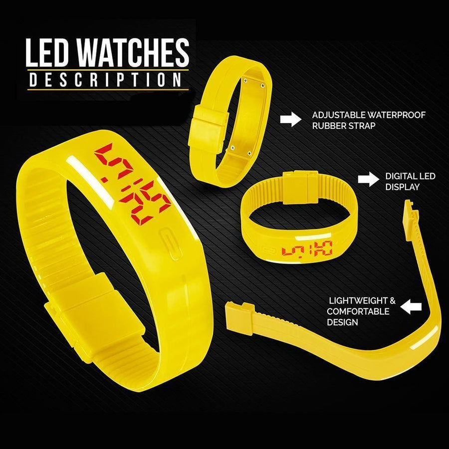 Sports Led Watch For Boys & Girls - Led Watch
