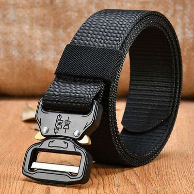 Tactical Buckle Belt (Heavy Duty) - 48 Black