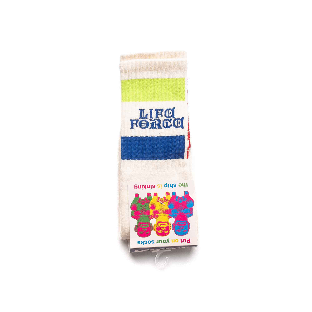 Life Force Socks - Cream