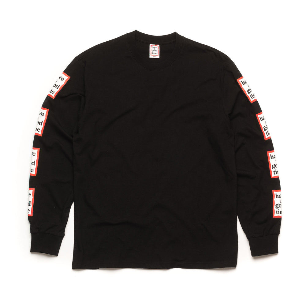 Arm Frame L/S Tee - Black